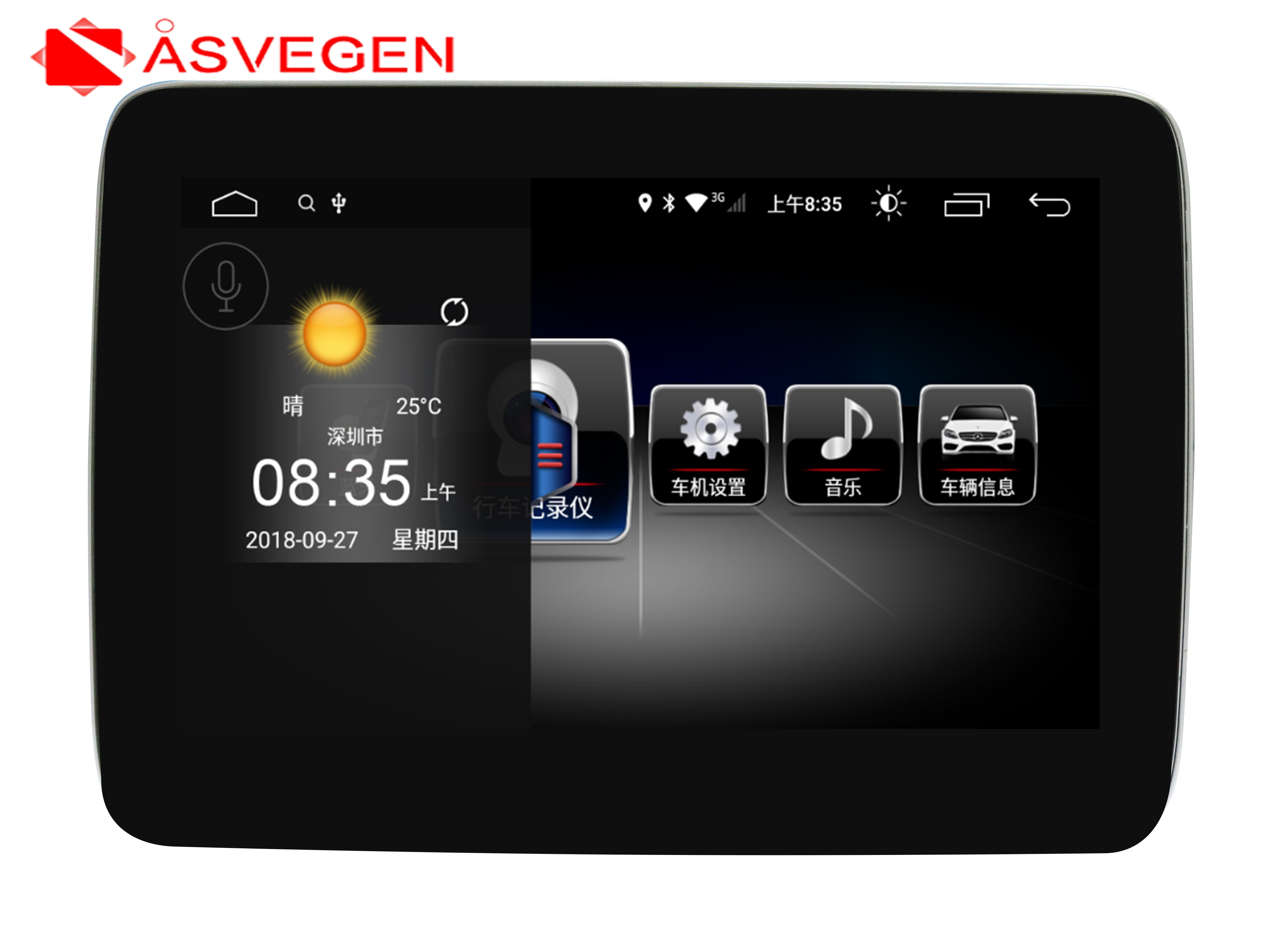 "8.4"" Android8.1 Car Radio Multimedia Player For Mercedes Benz ML ML350 ML320 ML280 GL350 GL450 Ram 4G 64G Auto Car Stereo GPS"
