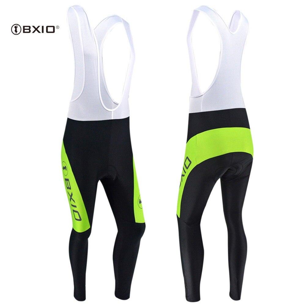 Bxio ciclismo calças longas da bicicleta outono/inverno respirável pro roupas esportivas pantalones de ciclismo BX-040-P