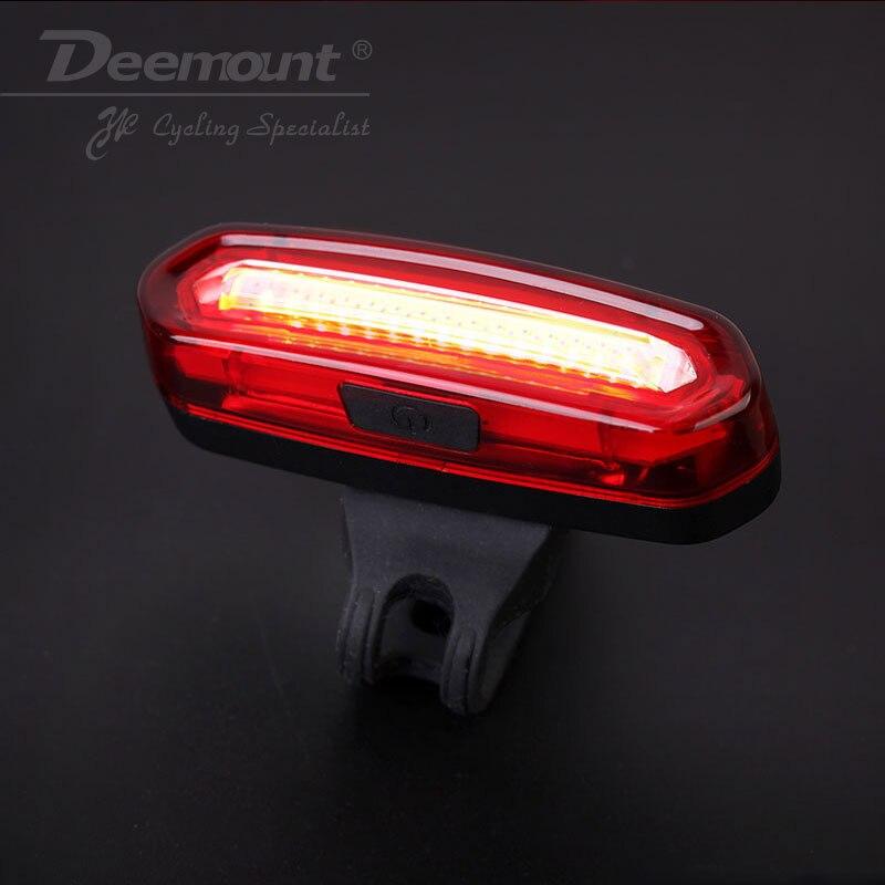 Deemount-feu arrière de bicyclette Rechargeable par USB, feu arrière de bicyclette, Comet, LED
