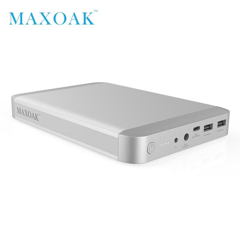 MAXOAK 36000mAh محمول البنوك والكهرباء USB-C نوع-C (5/9/12V)3A ميناء أفضل الخارجية الخليط شاحن للماك بوك باد و الهاتف الذكي