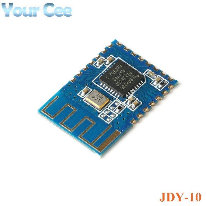 Прозрачный модуль передачи Bluetooth 4,0 Uart, совместимый с модулем Bluetooth CC2541, 1 шт., JDY-10 BLE