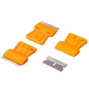 Image 4 - EHDIS скребок для бритвы + 10 шт., инструменты для тонировки окон, виниловая пленка для автомобиля, Ракель, стикер для стайлинга автомобиля, удалитель клея