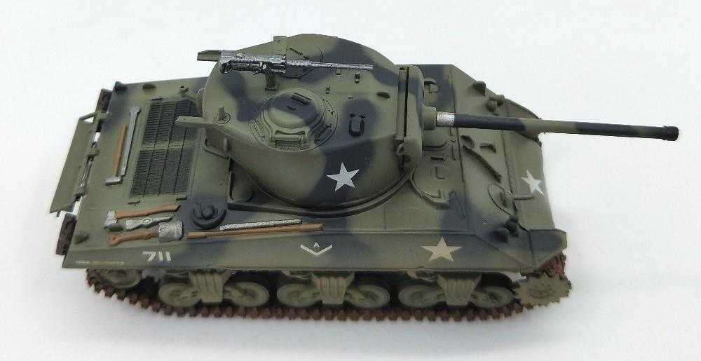 1 72 Estados Unidos M4A3 modelo de tanque de simulación en la Segunda Guerra Mundial trompeta terminado modelo de colección 36261