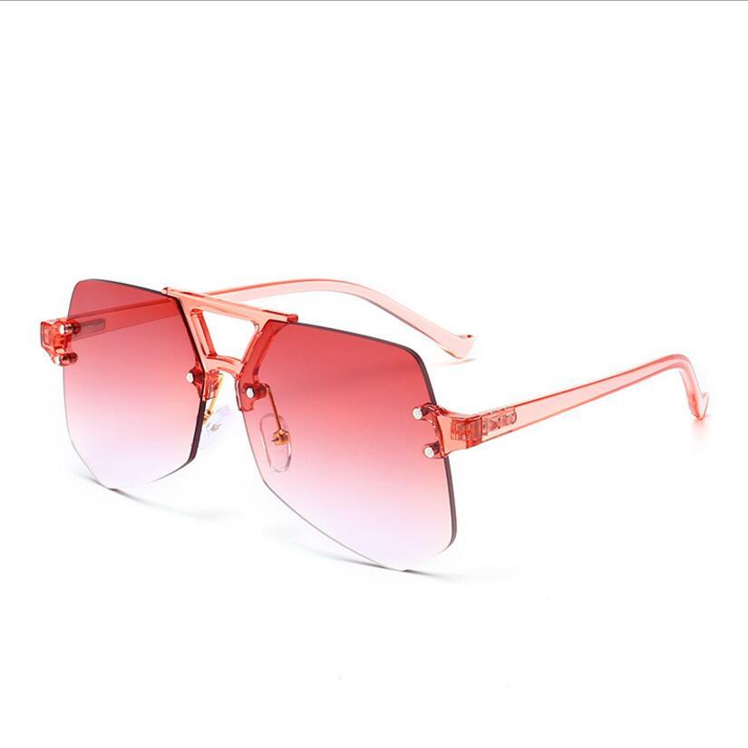 Gafas de sol transparentes Peekaboo marcos ópticos antiguos retro de moda para mujer con gafas transparentes