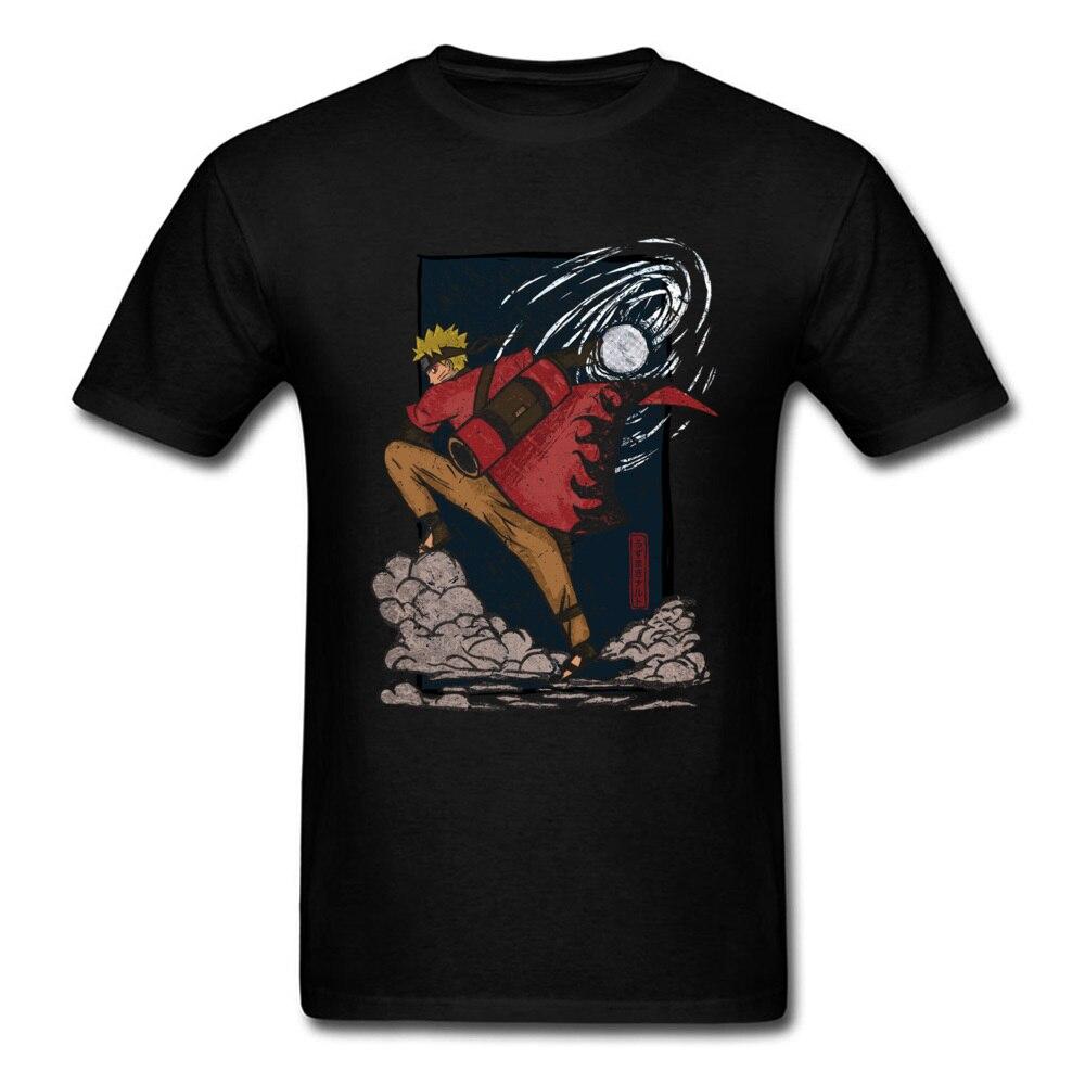 Anime nuevo Naruto camiseta Kurt Cobain hombres de moda Manga Anime camiseta Funny Hero Of The Leaf Anime japonés Teeshirt Azul Marino