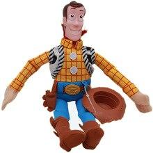 "1Pcs 14"" 35cm Peluche Boneca Toy Story 3 Woody Sheriff Soft Plush Figure Toys stuffed Doll Toys For Baby Kids Gifts"
