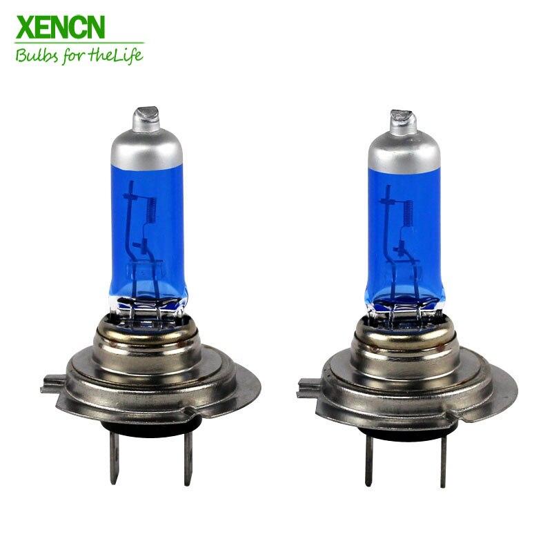 XENCN H7 12V 100W Super Bright White Fog Halogen Car Light UV Bulbs Headlights Auto Lamp parking 4300K