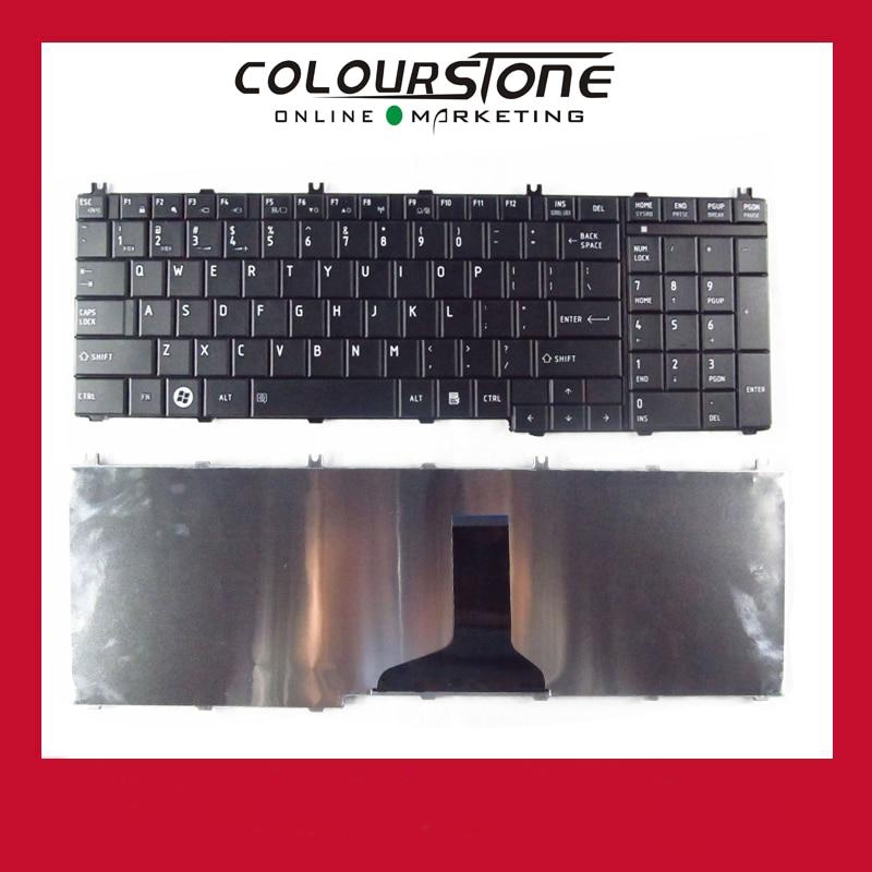 New US Black laptop Keyboard For Toshiba Satellite C650 C660 L675 C655 C655D C670 L650 L655 L670 L750 L755 L755D QWERTY keyboard