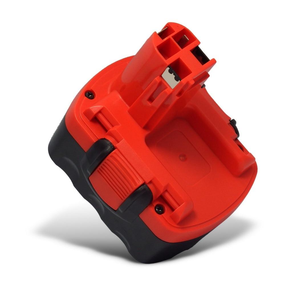 2 pièces X 14.4 V 3000mAh Ni-MH remplacement batterie Rechargeable pour Bosch 26156801 3610-K10 3610K 3612 3615K PSR 14.4 VES2 sans fil