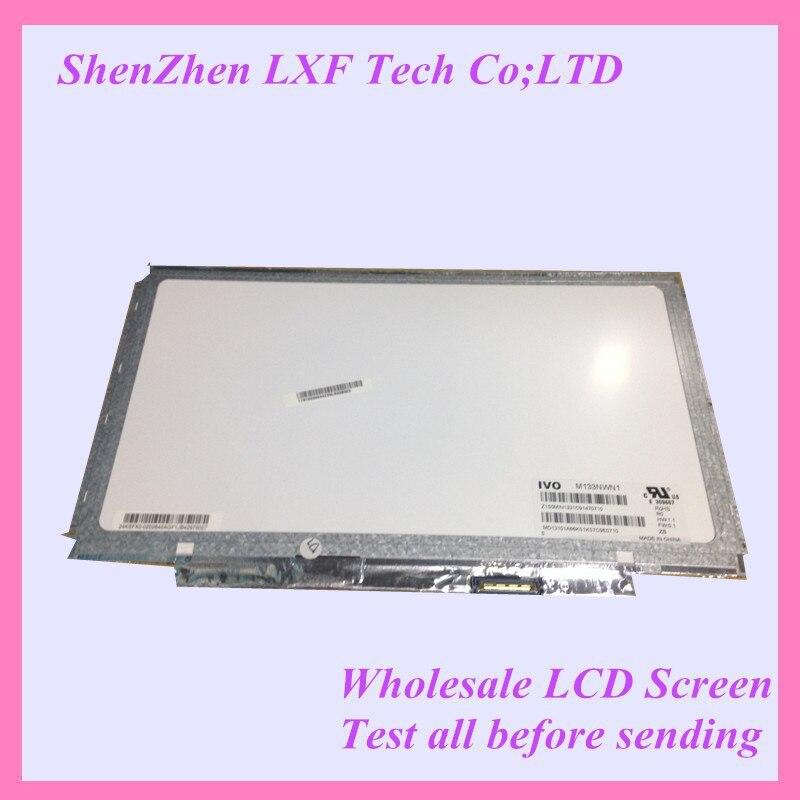 شاشة كمبيوتر محمول led مقاس 13.3 بوصة ، رفيعة ، M133NWN1 R0 ، لجهاز Lenovo U310
