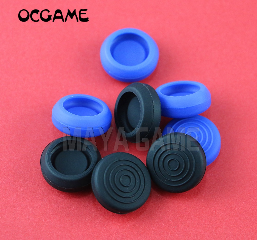 OCGAME para PS 4, extensor de pulgar, empuñaduras analógicas de dedo, empuñaduras de pulgar, tapas de Joystick 3D para controlador PS4, 4 unids/lote