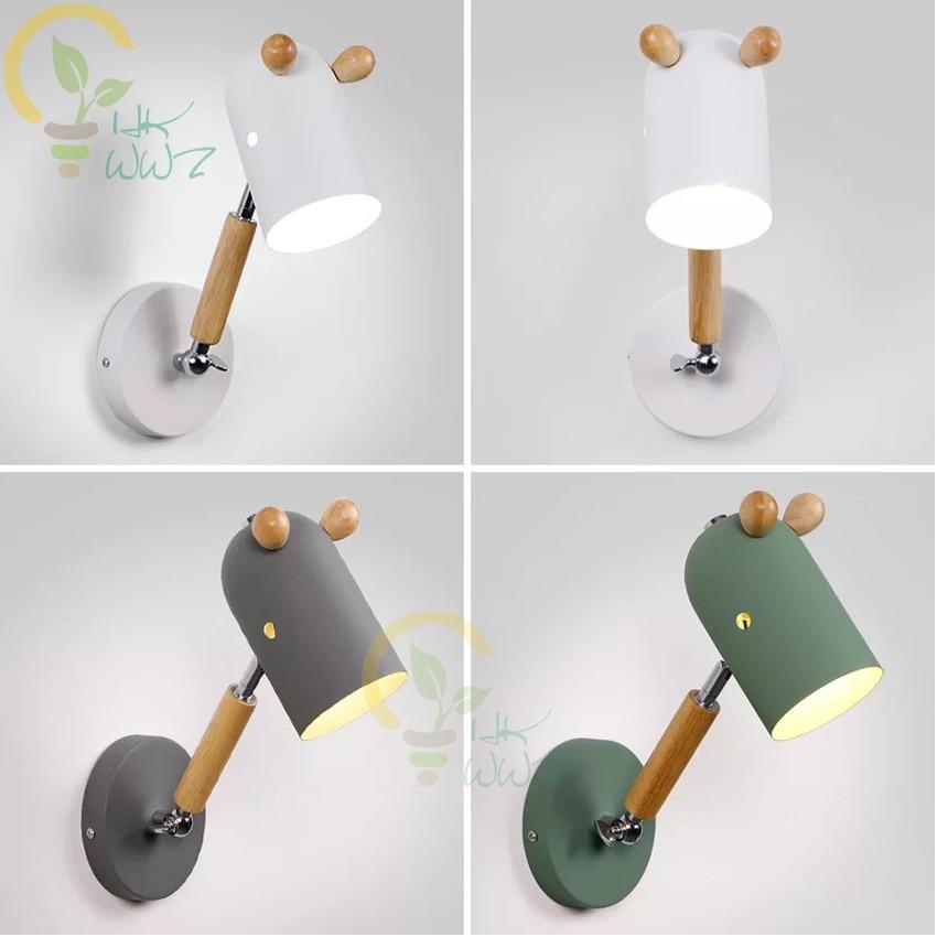Новый дизайн, модель лошади, настенные светильники для ресторана, прикроватная тумбочка, для учебы, скандинавские светодиодные Настенные с...