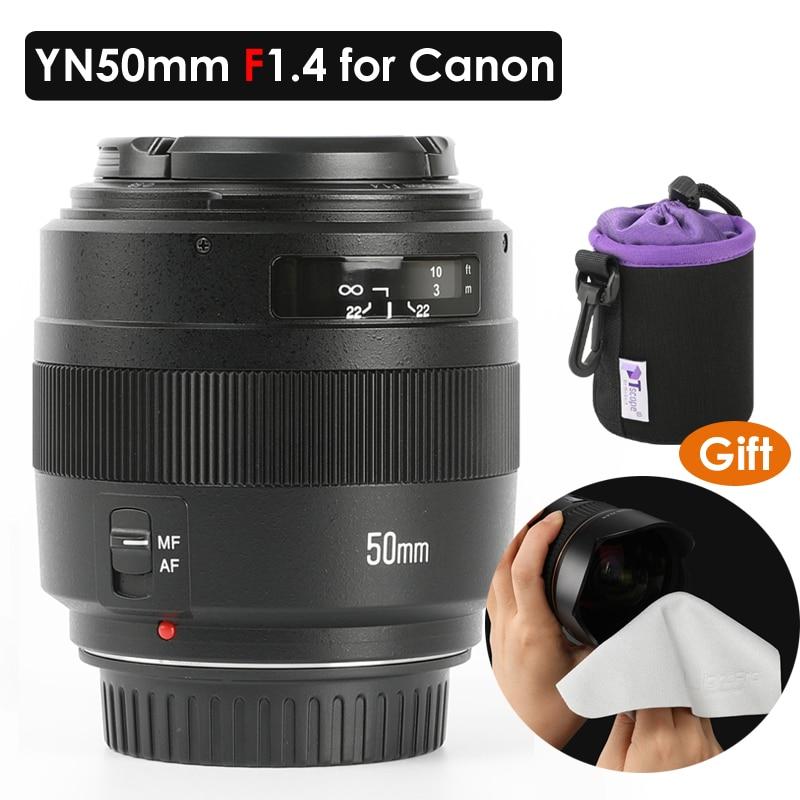 YONGNUO-عدسة Canon EOS ، YN50mm ، تركيز تلقائي ، تركيز يدوي ، عدسة 50 مللي متر ، 5DIV 60D