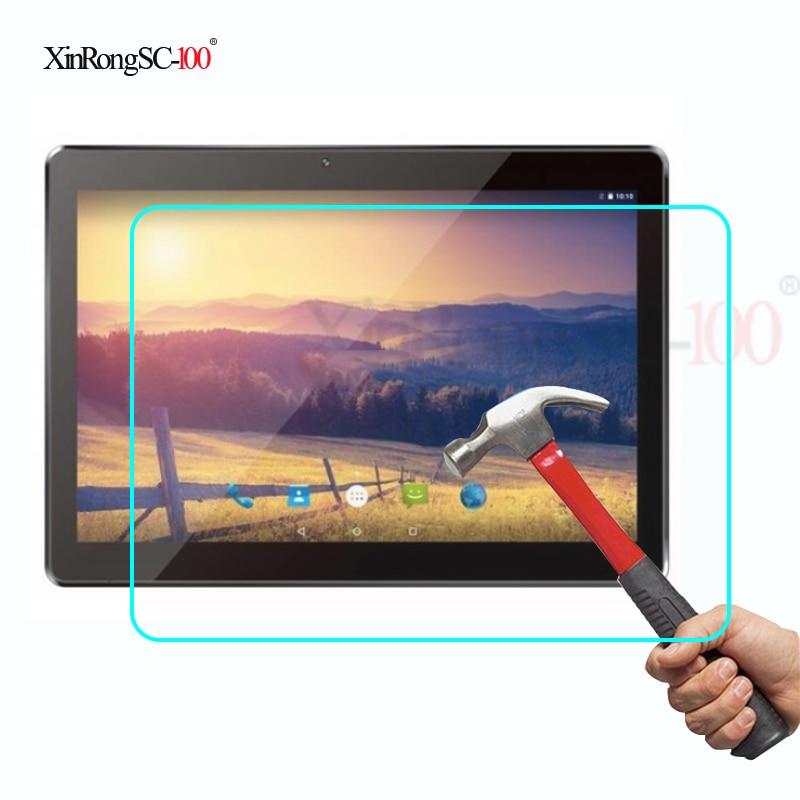 "Película protectora de vidrio templado 9h, Protector LCD para KOSLAM KL1084 BDF MTK 6580 Quad Core/Tablet Dragon Touch K10 10,1"""
