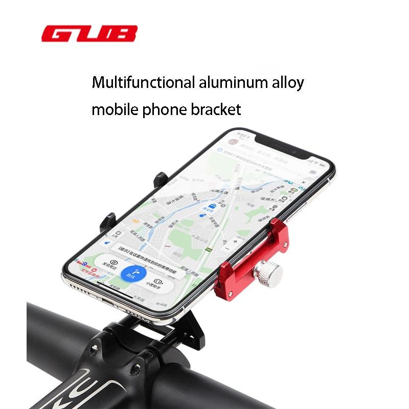 GUB G-99 Bicicleta Phone Holder Guiador Clipe Suporte IPhone 5 8 7 SE Suporte de Montagem Suporte Do Telefone Da Bicicleta Samsung S8 s7 Ciclismo Suporte