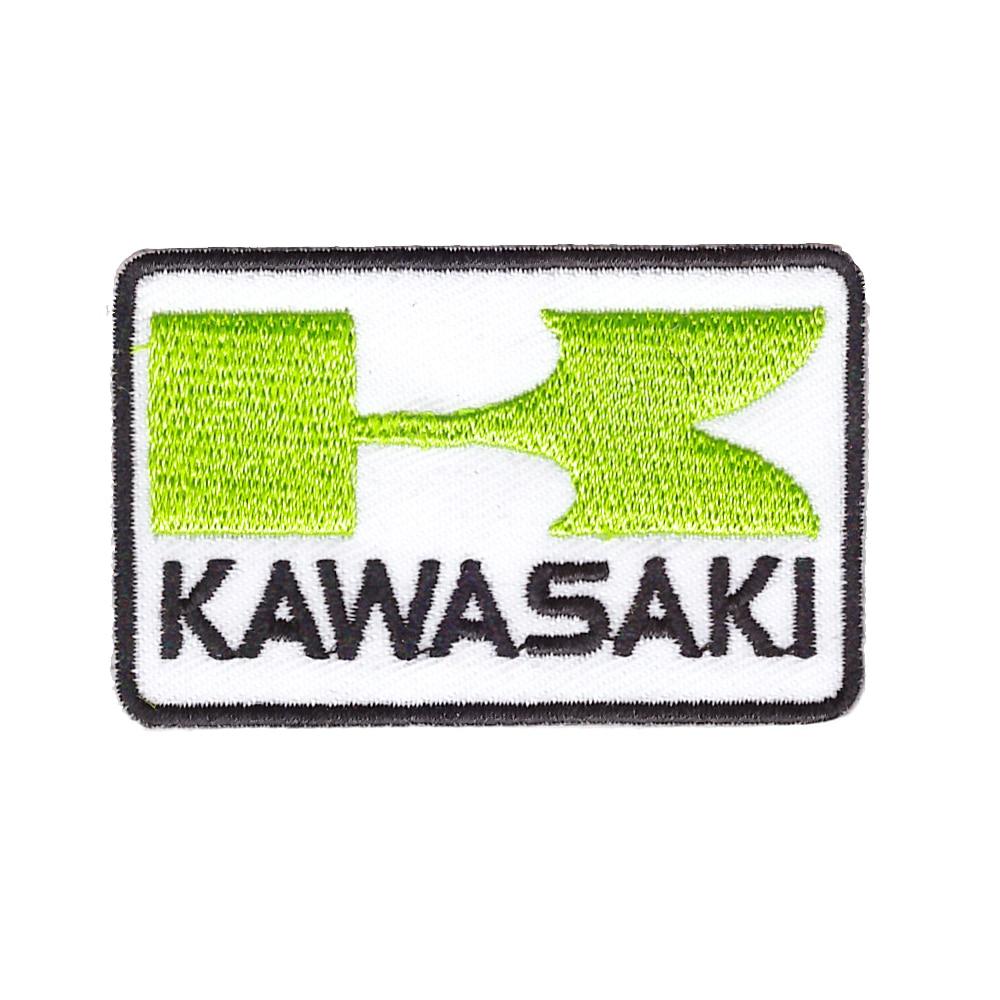KAWASAKI Ninja motos de carreras de Super bicicleta chaqueta capa apliques hierro en parche