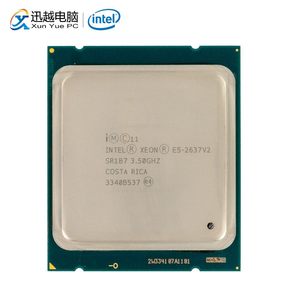 Intel Xeon E5-2637 v2 escritorio procesador 2637 V2 Quad-Core 3,5 GHz 15MB L3 caché LGA 2011 Server CPU utilizada