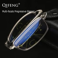 multi focus progressive reading glasses men women folding diopter presbyopic foldable male 1 01 52 02 53 03 5 qf212