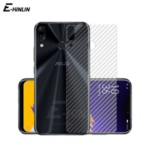 Soft Back Cover Screen Protector For Asus ZenFone 5 5Z 6 ZS630KL ZS620KL ZE620KL Carbon Fiber Sticker Protective Film No Glass