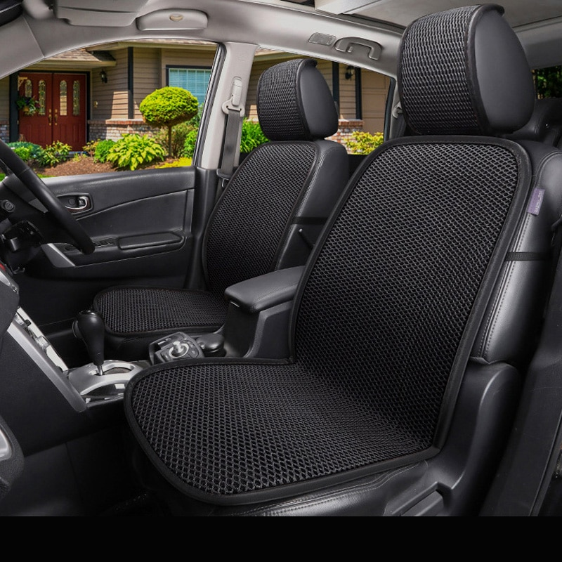 Front Car Seat Covers Universal Fit For Chevrolet Series Evanda Blazer Cruze Captiva Corvette Aveo Impala Camaro Malibu Models
