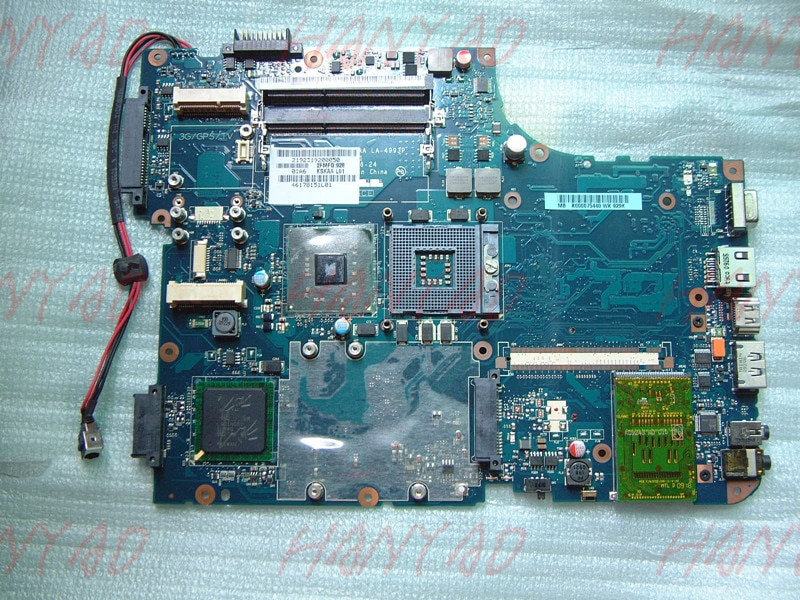 KSKAA LA-4993P For Toshiba A500 L500 Laptop Motherboard ddr3 Mother board 100% tested
