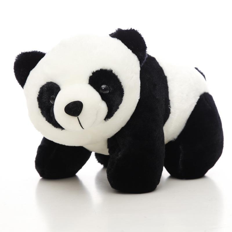 Precioso oso Panda de peluche de 20 cm, muñecas de peluche para niños, de alta calidad, de algodón suave, juguetes para bebé, animales para regalo