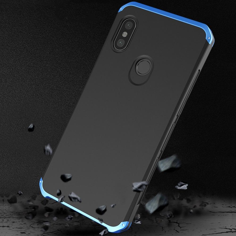 De lujo de RedMi Note 8 Pro caso armadura de Metal cubierta de marco para RedMi Nota 8 Note7 6 5 Pro nota 4X Mi8 SE MIX2S Mi9 K30 Pro MI10 Pro