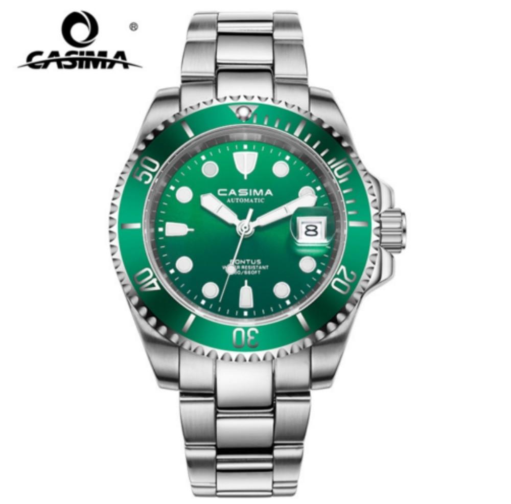 CASIMA Mens Watches Top Brand Luxury Automatic Mechanical Watch Men Full Steel Business Waterproof Sport Watches reloj hombre