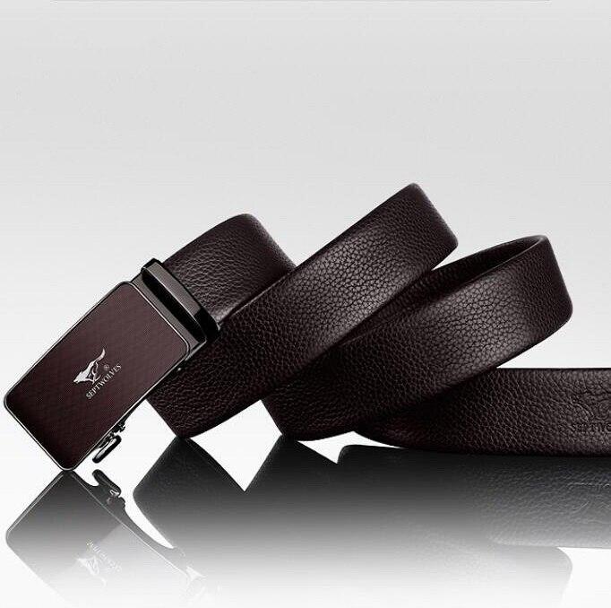 High quality Brand designer mens belts luxury real leather belts for men metal buckle man Jeans pants genuine leather belt male