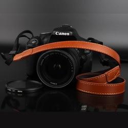 PU Couro Alça Da Câmera No Ombro Pescoço Cinto Correia Do Vintage para Canon M100 M50 M10 M6 M5 M3 M2 M G5 x G3 x G1 x III II G16 G15 G12