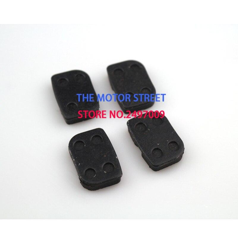 Передние и задние дисковые тормоза, 2 комплекта, обувь для квадроцикла, квадроцикла, мини-квадроцикла, карманный измельчитель, Супербайк, газовый скутер 43 47 49CC