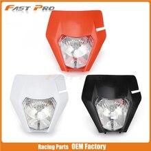 Motorcycle Universal Headlights Headlamp Head Light Lamp For KTM EXC EXCF SX SXF XC XCF XCW XCFW 125 150 200 250 350 450 530