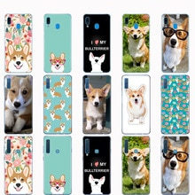 Case For Samsung A50 Case For Samsung Galaxy A50 A60 A10 A30 A40 A70 A 50 2019 A9 A7 2018 pembroke welsh corgi puppies