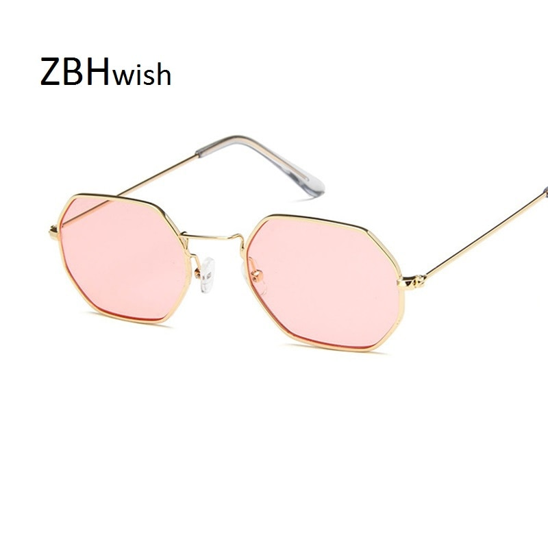 ZBHwish 2019 Square Sunglasses Women Retro Fashion Rose Gold Sun glasses female Brand Transparent gl