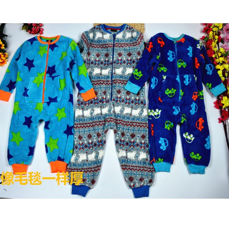 Baby onesies 100% cotton autumn and winter children's color cotton thick warm romper newborn clothes