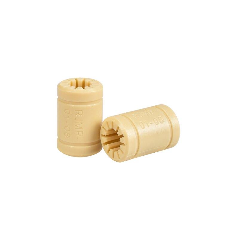 3D Printer RJ4JP 01 08 Solid Polymer LM8UU Liner Bearing 8mm shaft bushing bush 3D printer CNC Reprap Medel Part