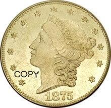 Tête de liberté des états-unis 20 Dollars   Aigle Double en tête avec devise