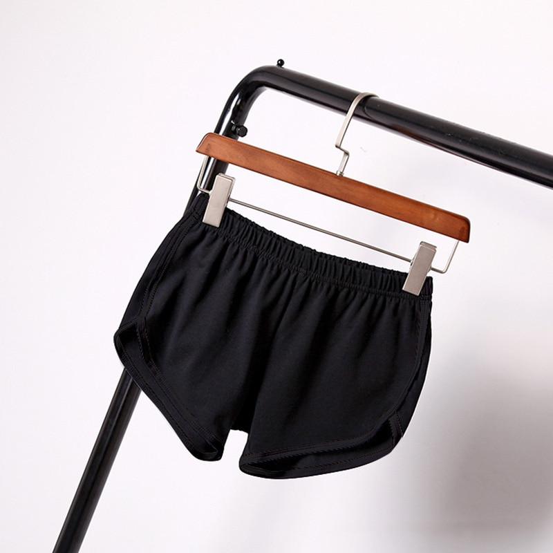 2019 Street Summer Fashion Women Elastic Waist Elastic Short Women's Shorts Girls Casual Loose Solid Soft Casual Short