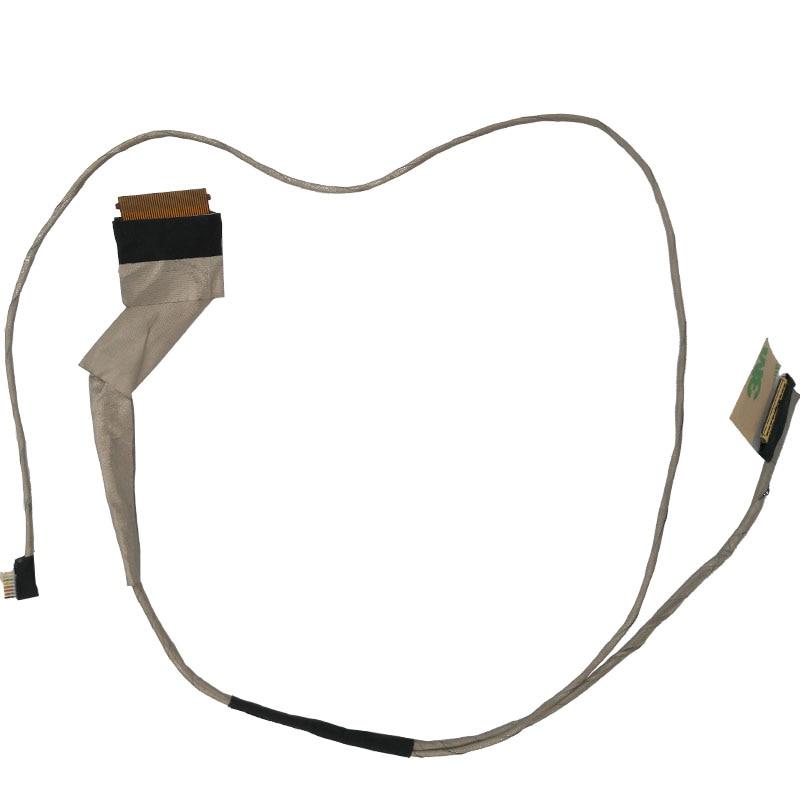 Cabo video novo do cabo flexível do diodo emissor de luz do lcd para dell 3542 3541 inspiron 15 3000 diodo emissor de luz pn: 450.00h01. 0021 cabo do portátil lcd lvds