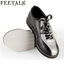 Feetalk unisexe Bowling chaussures hommes femmes antidérapant semelle professionnelle sport Bowling chaussures slip baskets 006