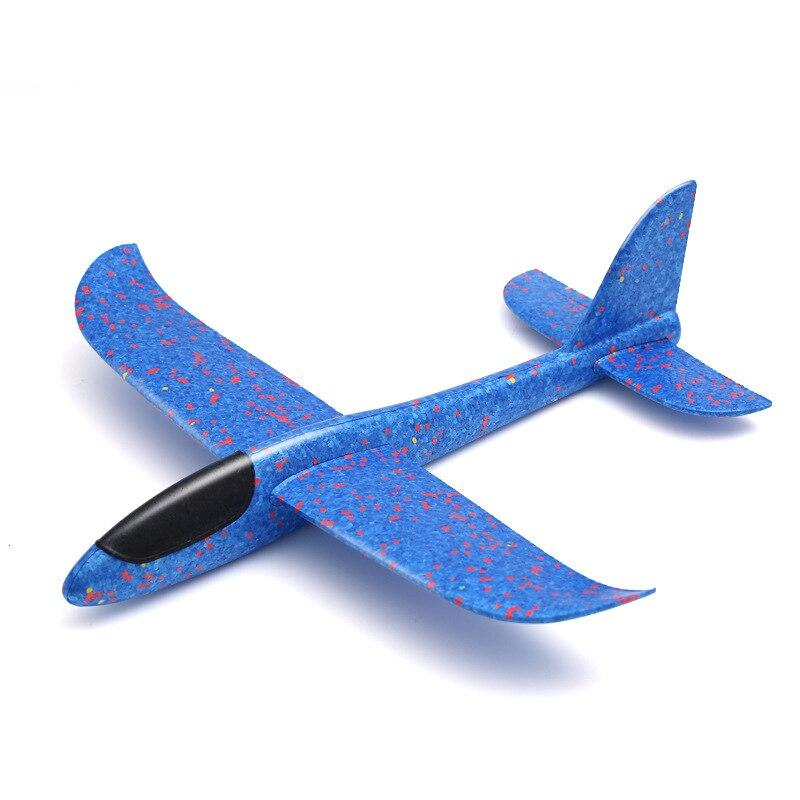 48CM main jeter volant planeur avion mousse jouet 35CM grand avion modèle EPP Sports de plein air avions jouets amusants pour enfants jeu TY0321