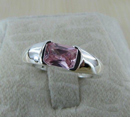 R221 atacado prata chapeado anel, prata moda jóias, moda anel