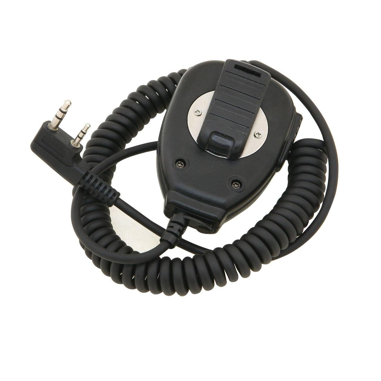 De Baofeng Megafono Comunicacion Microfono del Hombro Altavoz Microfono de Mano de...