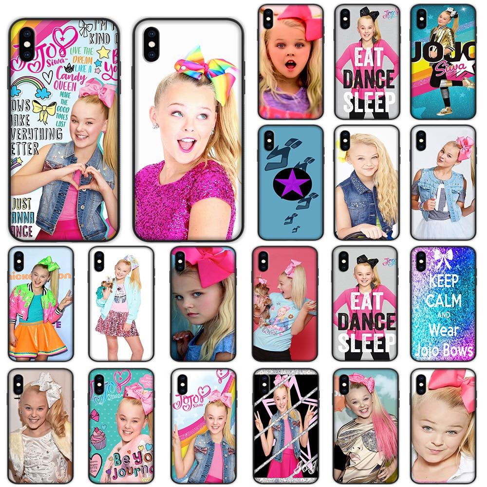 Joelle Joanie Jojo Siwa suave para iPhone XS 11 Pro Max XR X 7 7 6 6S Plus funda