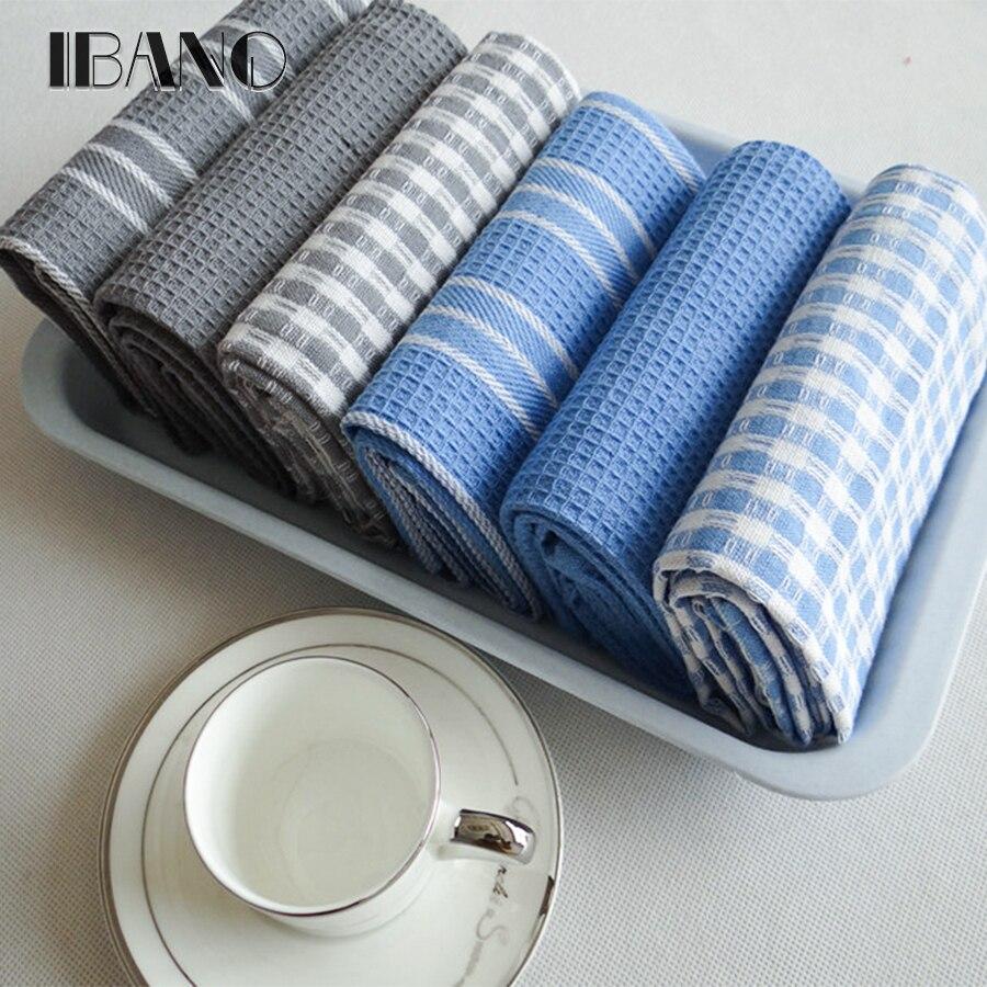Alta calidad 100% paño de algodón para vajilla de pano de prato respetuoso del medio ambiente de cocina Toalla de té a granel toalla mucho Scouring Pad 3 unid/set OEM