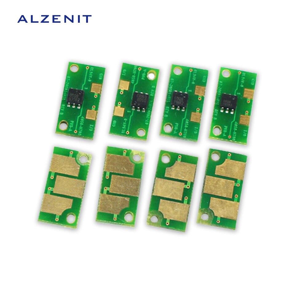 4Pcs GZLSPART For Konica Mionlta 7450 7440 7400 OEM New Drum Count Chip Four Color Printer Parts On Sale