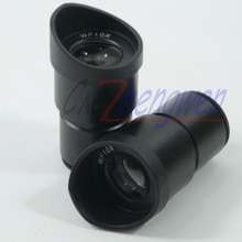 FYSCOPE nouvelle paire oculaire Microscope widefield WF10X achromatisme 30 MM avec lentille grand angle de protection oculaire