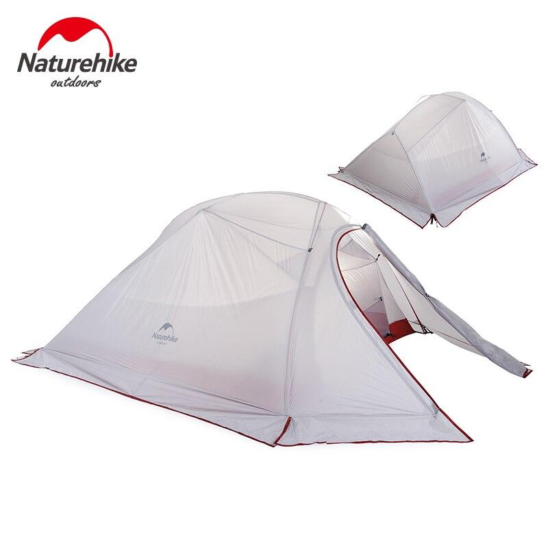 NatureHike Outdoor Camping Tent 2 3 Person Waterproof Double Layer Winter 4 Season Hiking Tourist 1 Ultralight