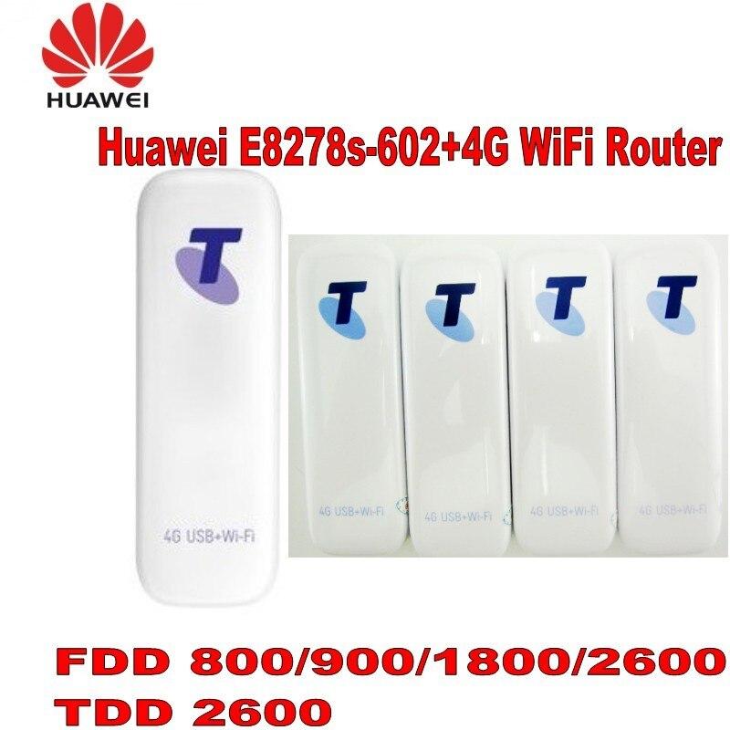 HUAWEI E8278 4G LTE-minimódem inalámbrico, usb, ranura para tarjeta de datos multisim, el primer Dongle LTE WiFi, tarjeta de datos usb