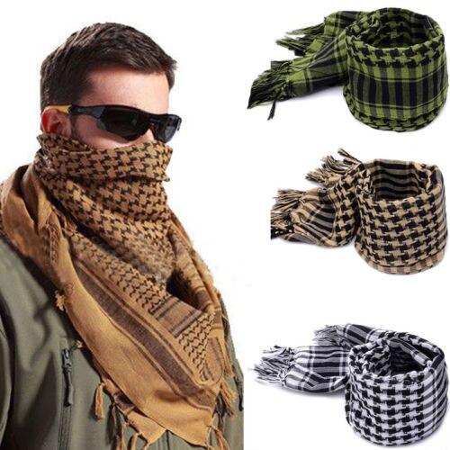 Унисекс военный арабский Тактический Дезерт шемаг кеффие шарф шаль шеи головной убор